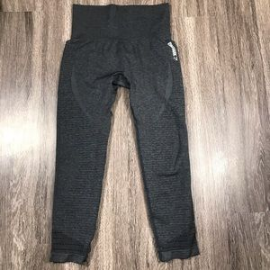 Gymshark High Waisted Seamless leggings Gray